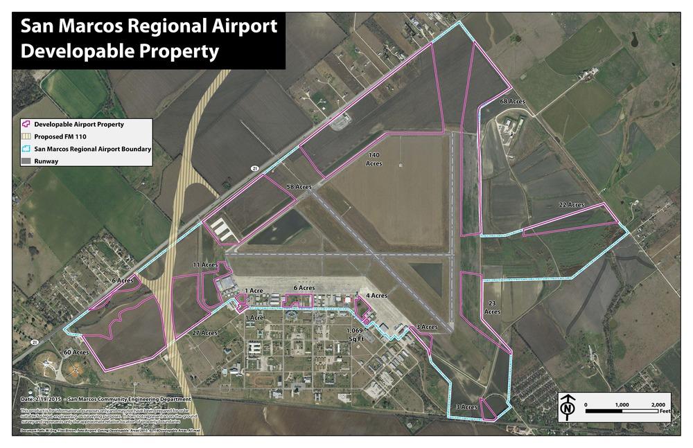 Leasing Development – San Marcos Regional Airport
