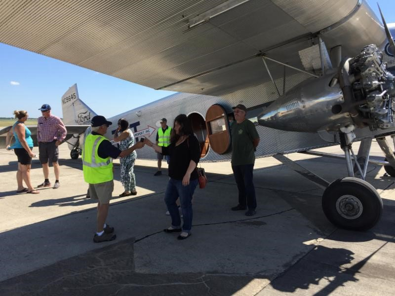 San Marcos aviation lovers take off on a journey into the past